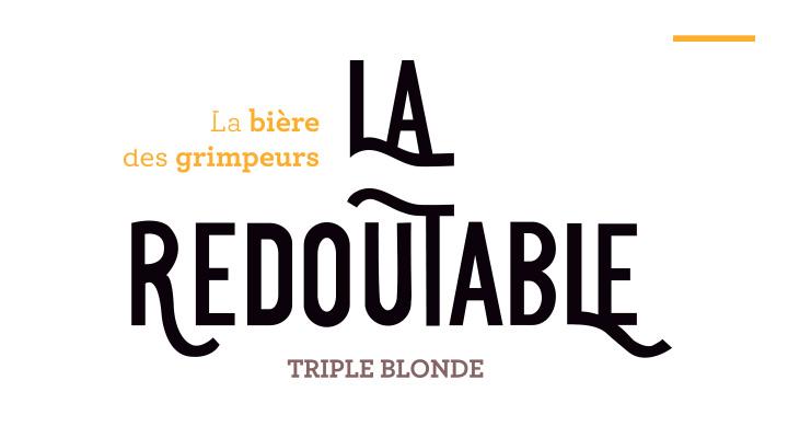Notre sponsor la redoutable, LA bière des grimpeurs !